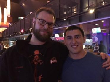 Bowling bros: Vaughn and Jordan.