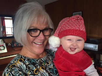 Nonni Lori and lil' Emalyn.
