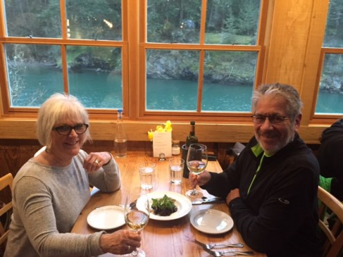 Dinner at Doe Bay Cafe