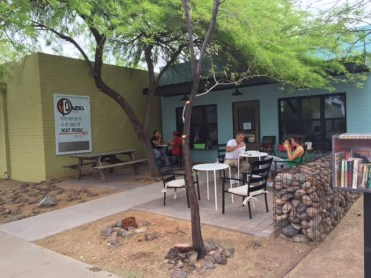 The exterior of Duza's, a great little breakfast spot I discovered in Phoenix, Arizona.