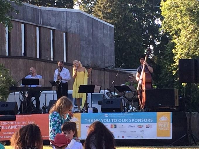 Music in Willamette Park