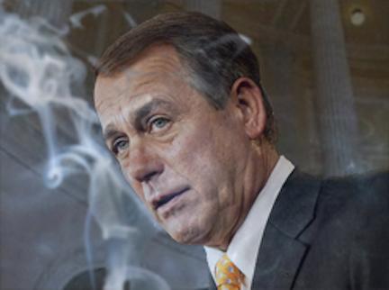 John Boehner: Still Smokin'