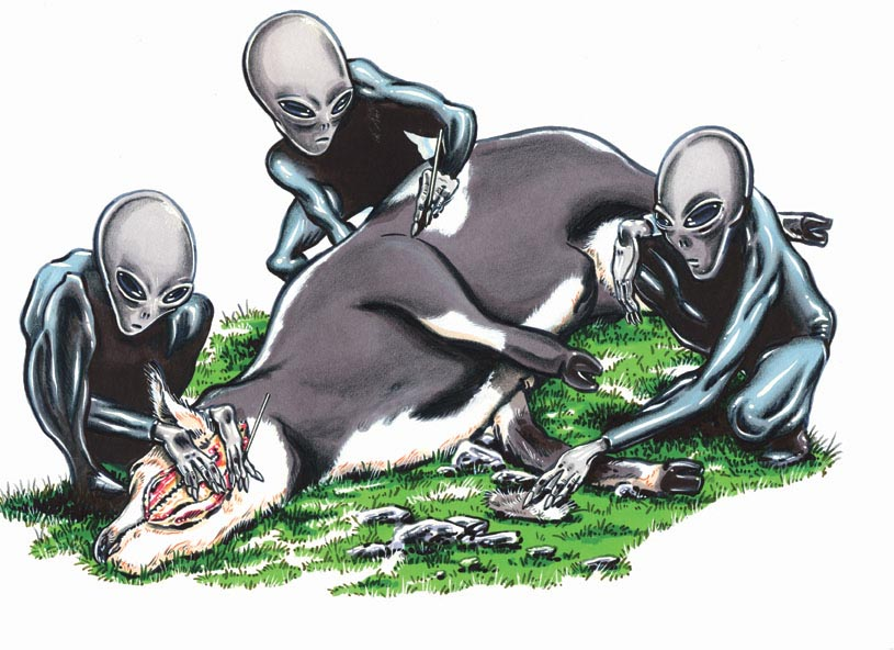 Aliens Killing Our Cattle?