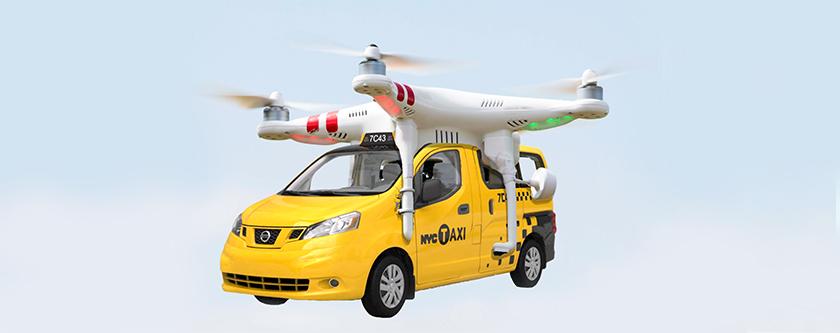 Coming Soon: Robo-Air Taxis