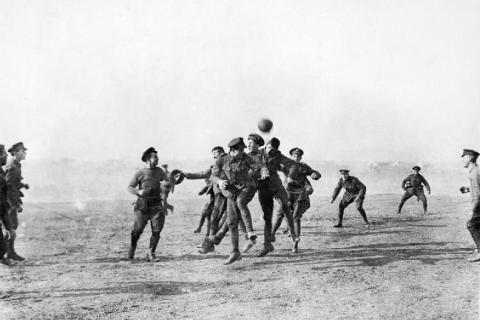 Christmas Football – 1914