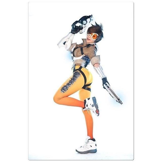 Amazing costume! regram @c_c_g_p Cosplayer: [TASHA (타샤)] Cosplay: [Tracer] OST: [Overwatch]  ________  #Tracer #Overwatch #gamecosplay #cosplay #ccgp #косплей #art #cutecosplay #cutegirl #beautiful #girl #photo