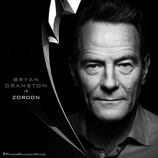 He will come knocking! Sorry, the meme will just never go away. regram @powerrangersmovie The mighty #Zordon has officially been cast! Please welcome #BryanCranston to the #PowerRangersMovie – Coming in 2017.