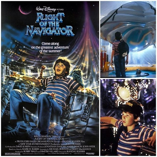 I loved this movie as a kid. LOVED LOVED LOVED IT! 😭 regram @hlfpodcast #FlightoftheNavigator turns 30 soon and what better weekend than to release on #IndependenceDay when aliens take on the world! Listen as Seth of the Take Me to Your Reader Podcast joins me on this #Disney favorite! #podcast #movie #scifi #moviereview #aliens #ufo #timetravel