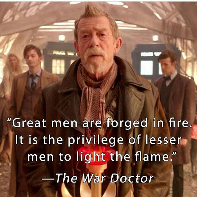 I'm listening to the audio book Engines of War. It's so great. It would have made a fantastic special episode or something. Damn. ・・・ Rest In Peace John Hurt 😭 #wardoctor #ollivander #johnhurt #enginesofwar #audiobook #audible