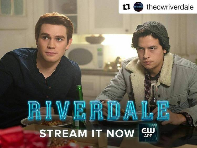 Stopped watching #Riverdale. I don't understand what they're saying, the dialogue is too over the top.  #Repost @thecwriverdale ・・・ See what Archie and Jughead get into this time on the latest episode, available now on The CW App! Click the link in the bio. #archie #jughead