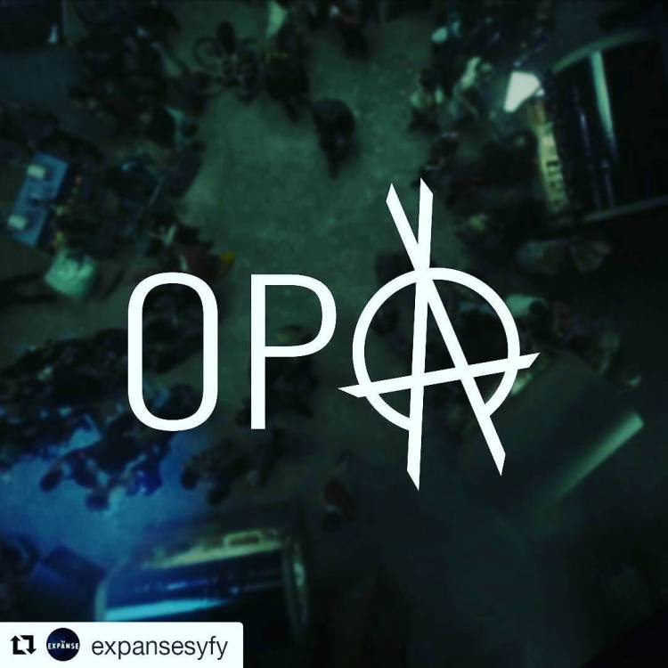 Every time I see this I remember the Greek Opa expression and I chuckle a bit.  #Repost @expansesyfy ・・・ They will never forget. #RememberTheCant #TheExpanse #opa