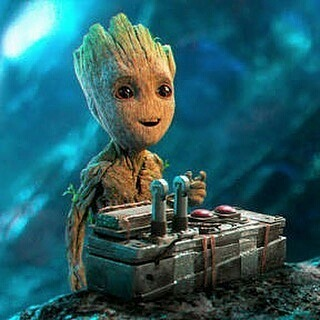 Guardians of the Galaxy 2 was simply perfect! The characters arced, Ego was intimidating, Nebula was awesomely single-minded and Baby Groot was hilarious! Drax needs to shut up a little.  #Repost @lookbookdaamanda ・・・ Cutest 💜 #cutest #groot #babygroot #imgroot #guardiansofthegalaxy #guardioesdagalaxia #movie #boanoite #bonnenuit #buenasnoches #goodnight