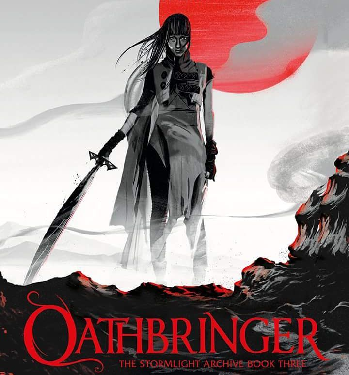 Sanderson announced Oathbringer. I won't preorder, cause audible has this weird bug that won't let me download my preorders every time and I need to contact support. But I'll buy it instantly! #brandonsanderson #oathbringer #stormlightarchive #shardbearer #fantasy #audible #bookstagram #cover #audiobook