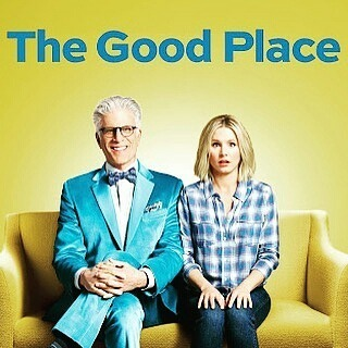 This show is hilarious. I laughed so much, plus it's brilliant. A bitchy girl goes to heaven by accident. It's great, watch it. #Repost @anastasia4styles ・・・ I LOVE THIS SHOW! #thegoodplace #netflix