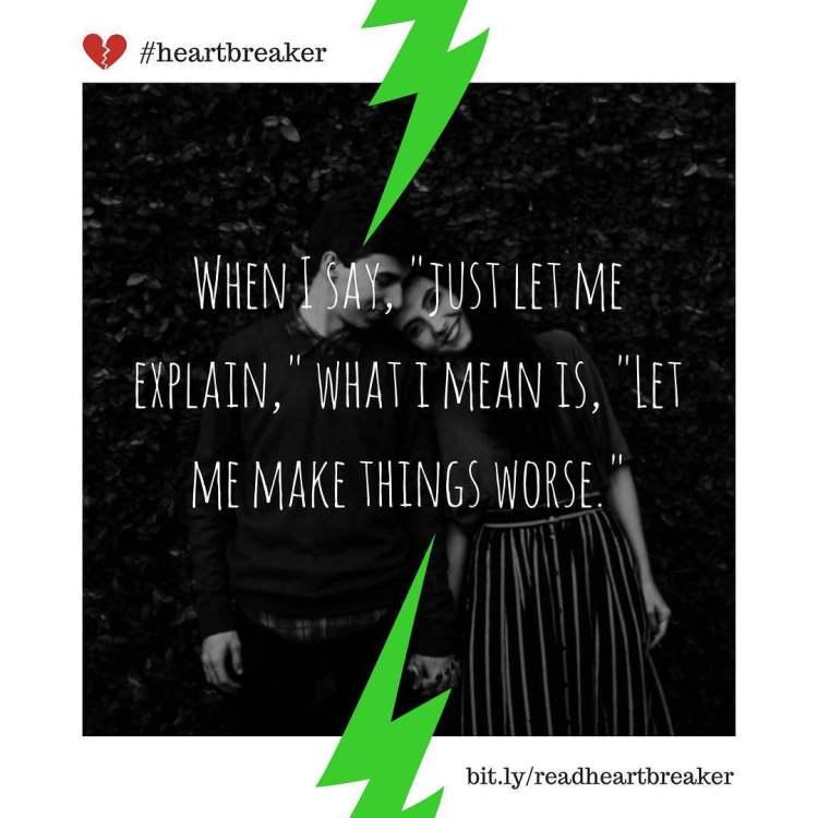 Start reading Heartbreaker, link in bio. Feel free to regram! #love #couple #kiss #hugs #romance #forever #girlfriend #boyfriend #gf #bf #bff #together #instalove #fun #smile #lol #meme #breakup #heartbreaker #instagram #bookstagram #kindle #blackhumor #eris
