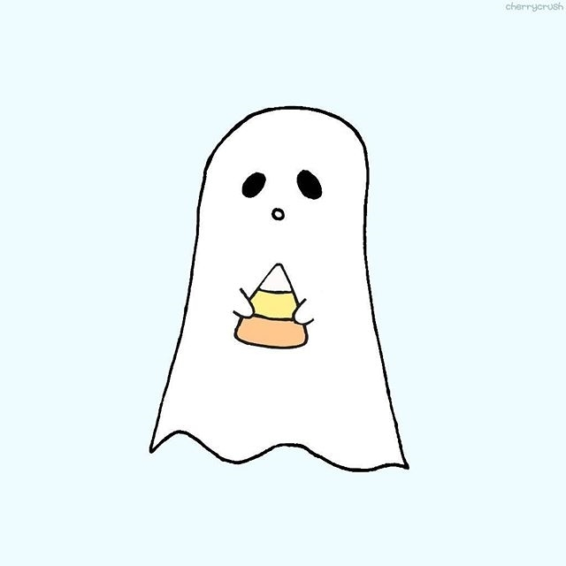 Sad ghost just wants to be friends with you.  regram @mycherrycrushx October is here !!! #instadaily #instaartsy #october #octoberphotoaday #octoberchallenge #halloween #ghost #mycherrycrush #cherrycrush