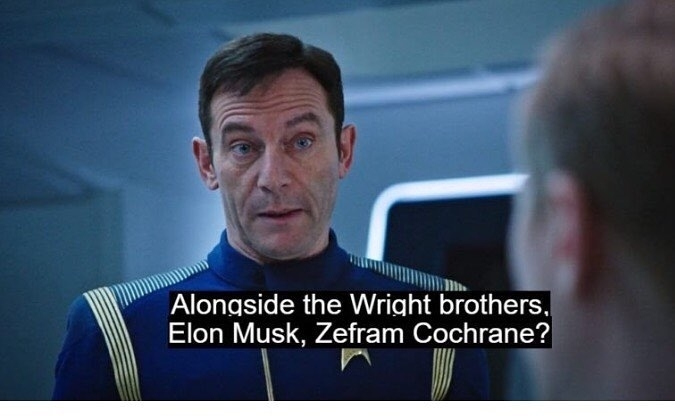 This guy chews the scenery. I love it! Star Trek STD is awesome and sexually contagious. Fuck the haters. The script is terrific.  regram @warehousefilms Elon Musk got a shoutout in the new episode #startrekdiscovery awesome #art #film #movies #cinema #geeks #nerds #trek #startrekdiscovery #startrek #elonmusk #spacex #tesla #future #science #scifi #sciencefiction #tv #tvshows #tvseries #cbs #cbsallaccess #std #netflix