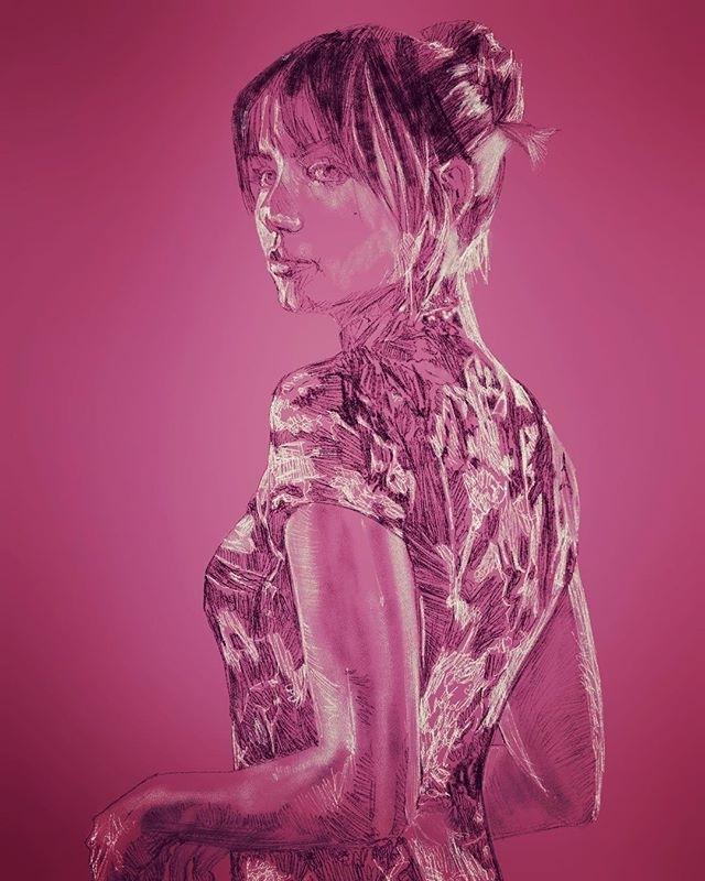 Draw me like your French girls. regram @rondomingue Joi, #BladeRunner #BladeRunner2049 #anadearmas