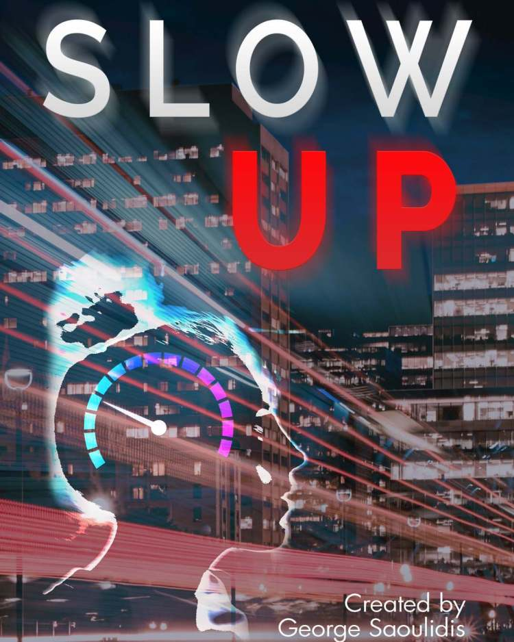 Cover reveal for Slow Up! Preorder now for a discount, find the link in my bio or search Amazon for Slow Up. #bookstagram #newadult #romanticcomedy #cyberpunk #corporations #muse #athens #cybathlon #olympicgames #augmentation #hermes #artemis #godcomplex #kindleunlimited #ku #mustread #author #preorder #scifi