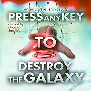 Press any Key to Destroy the Galaxy is now 99c on Amazon. Find the link in my bio or Google it. Google it hard. #lol#kindle #scifi #audiobook #bookstagram #reading #antigravel #humor #audible
