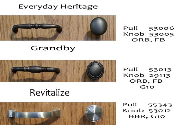 Hardware Everyday heritage, grandby, revitalize styles