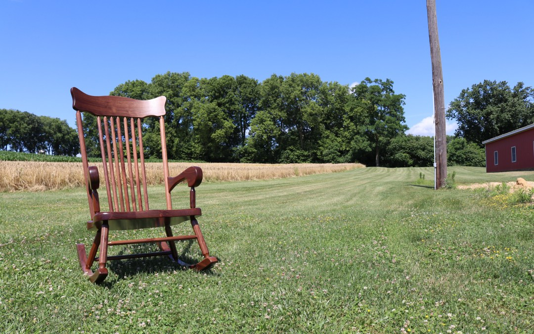 Experience Soothing Comfort With Our Rocking Chairs