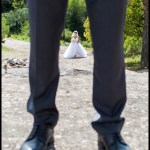 First Look à Ventabren - Mariage au domaine de Chante Grillet