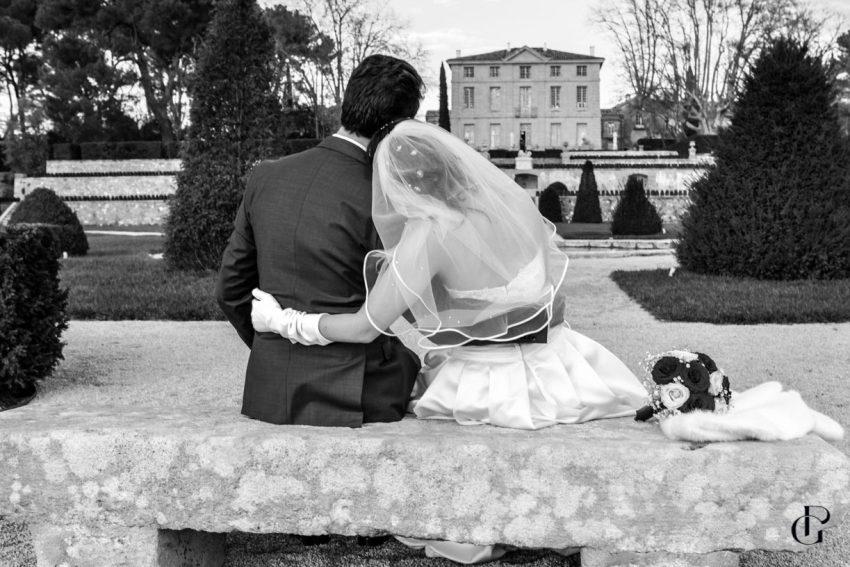 une séance couple au chateau de la gaude ambiance féérique