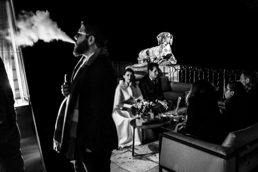un mariage en hiver au chateau de la gaude Aix en Provence