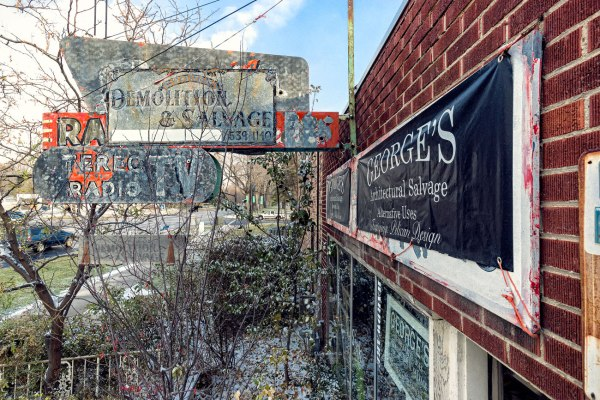 George's Salvage Sign