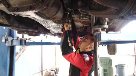 Especialista en reparación transmisión