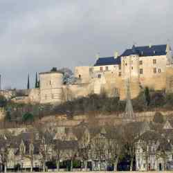 French castle at Chinon