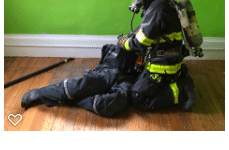 Acquired Home Provides Training Location for Georgetown Firefighters