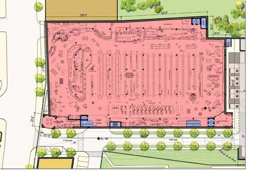 Safeway Floor Plan