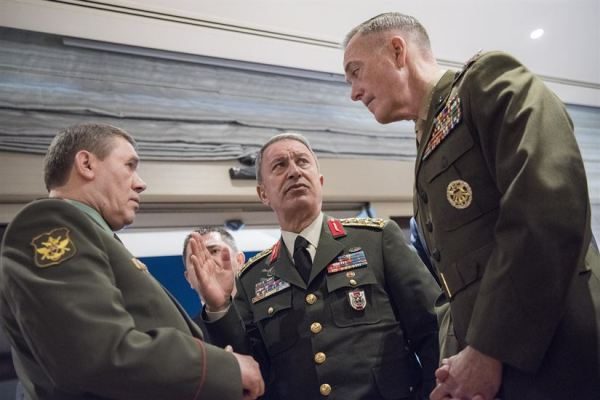 US, Turkish, Russian Defense Chiefs Meet in Antalya, Turkey