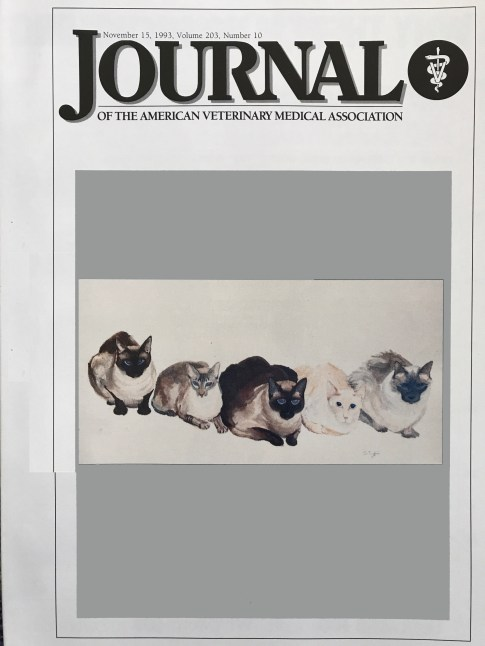 American Veterinary Medical Association Journal - Nov 15, 1993