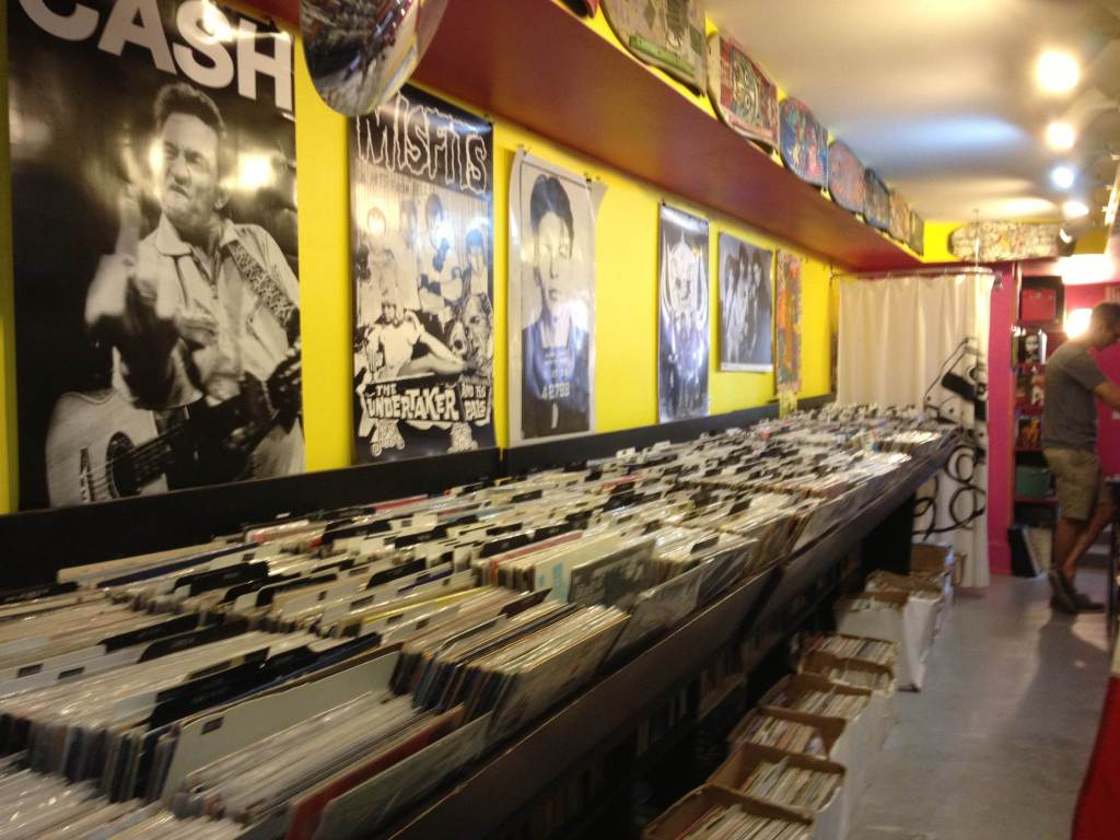 The District's record stores will spin you right round, baby
