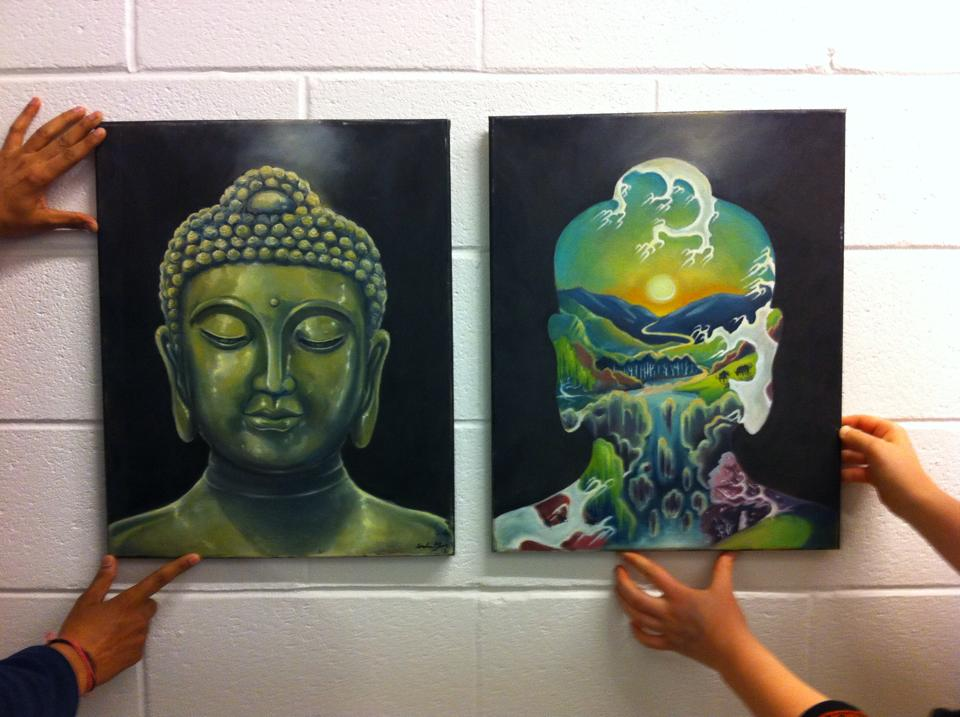 Student Artwork Steals the Spotlight