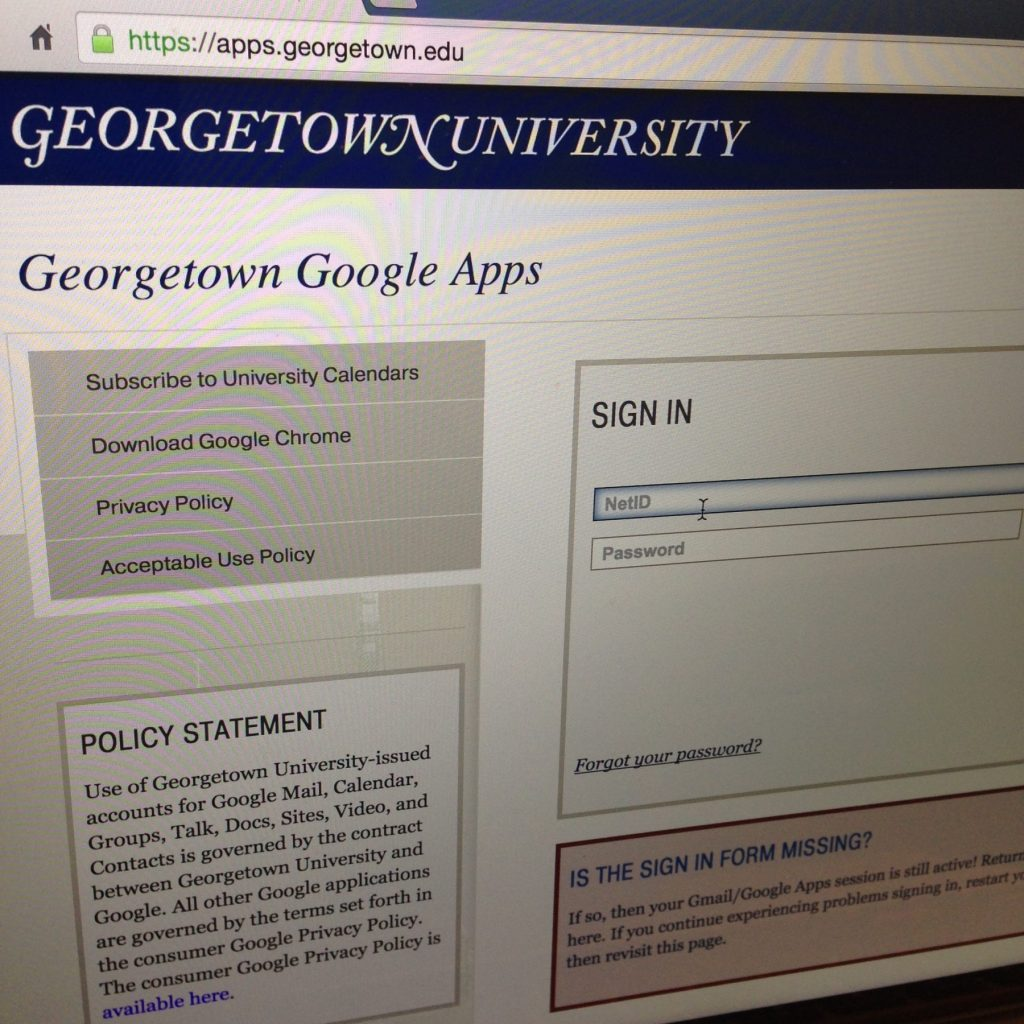 Multiple Georgetown email accounts compromised by scammers