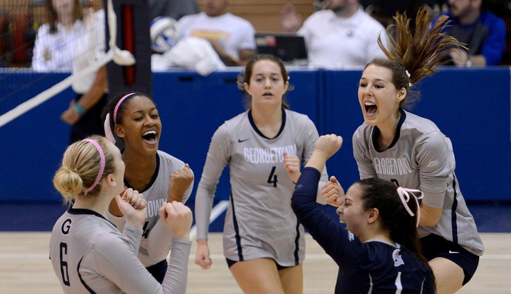 Weekend Volleyball Roundup: Hoyas fall victim to Red Storm but dismantle Friars