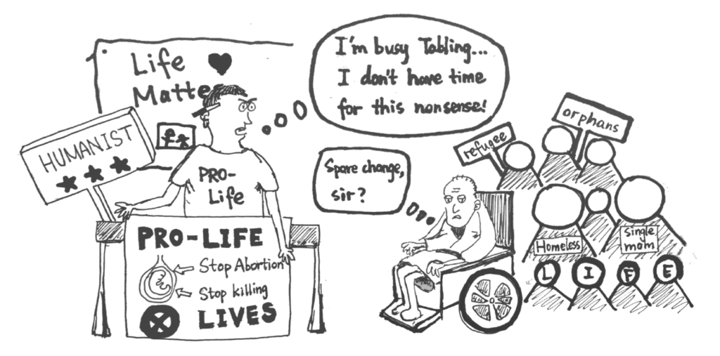 "Right To Life, With Conditions: The Hypocrisy of the ""Pro-Life Generation"""
