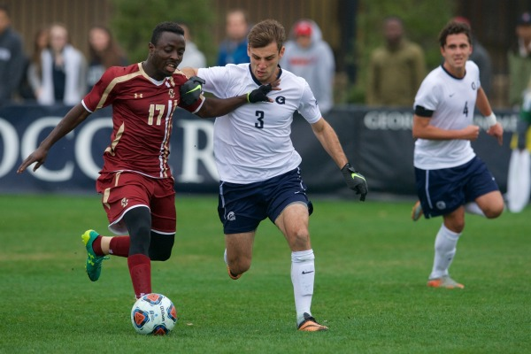 PKO'd: Men's Soccer Ousted from NCAA Tournament in Penalty Kicks by Boston College