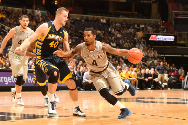 On the Marq: Hoyas improve to 2-0 in Big East with win over Marquette