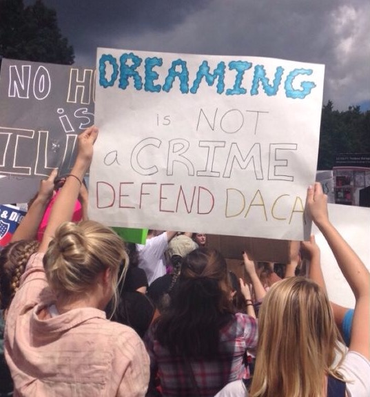 Georgetown Community Responds to DACA Repeal