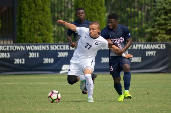 Panting for Breath: Hoyas edge Huskies in Shaw Field scorcher