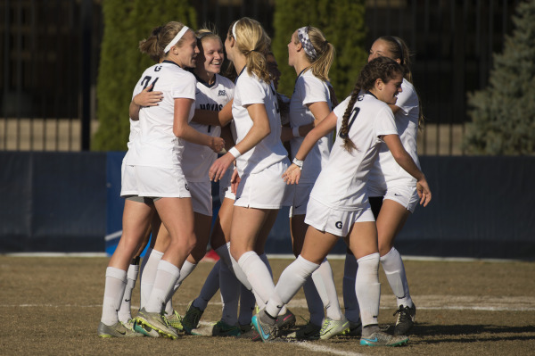 Day and Knight: Women's soccer handles Rutgers to advance to Sweet Sixteen