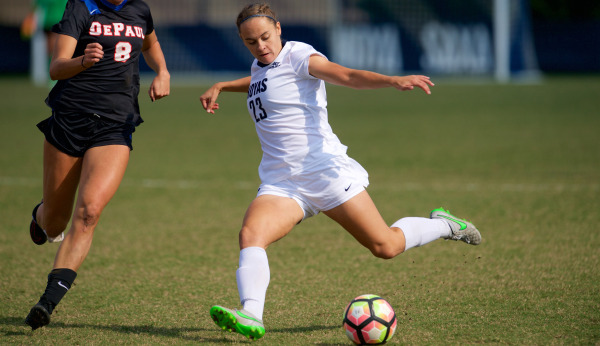 Bouncing Back: Women's Soccer Defeats Cross- Town Rival GW