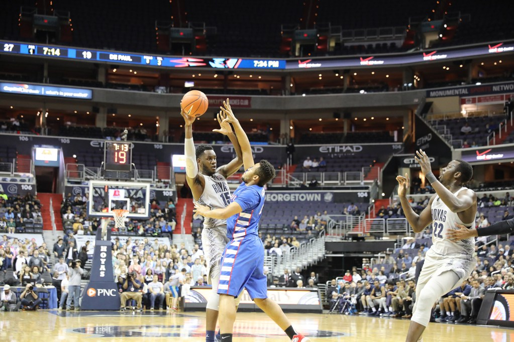 Shipwrecked: Men's basketball loses fourth straight game, clinches ninth in Big East Tournament