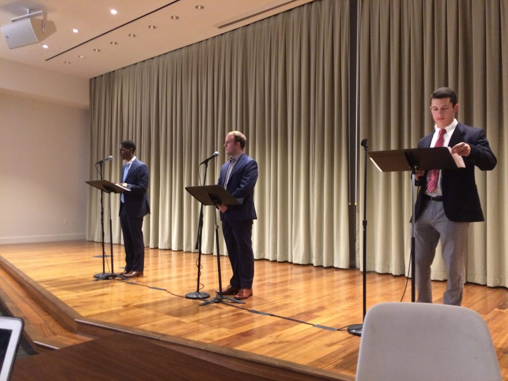 GUSA presidential candidates discuss platforms in debate
