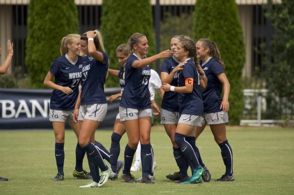 No. 17 women's soccer thrashes Seton Hall to remain perfect in Big East play